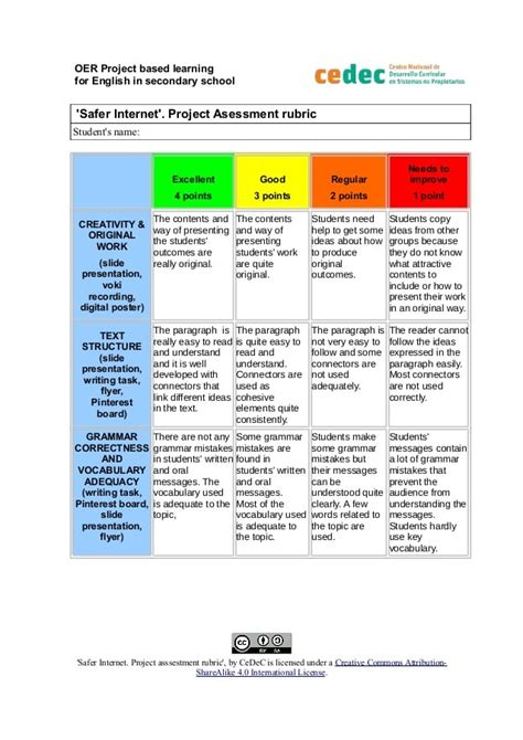 project assessment examples  examples