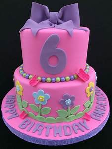 Birthday cake for a 6 year old girl | Cakes in 2018 ...