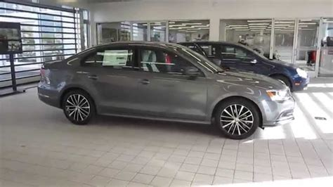 2016 Volkswagen Jetta Platinum Gray Metallic Stock