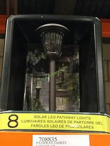 Bronze Solar Stake Lights Pathway Lights Led Solar 8 Pk Model Gtx 10055 8pk