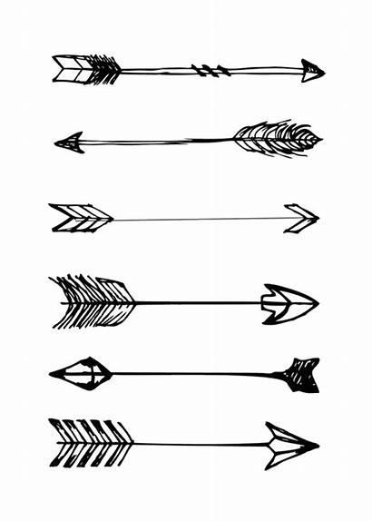 Arrow Aesthetic Clipart Bow Myreal