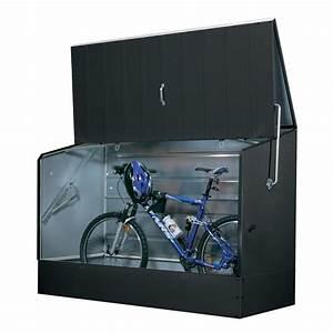 Schiebetür Abschließbar Machen : tepro metall fahrradbox fahrradgarage anthrazit ~ Watch28wear.com Haus und Dekorationen