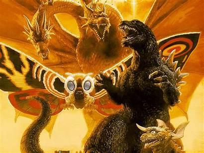 Godzilla Ghidorah King Wallpapers Background 1920 Abyss