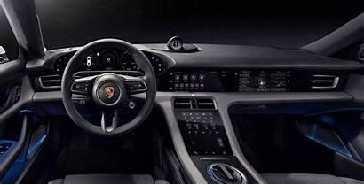 Taycan Porsche Interior Electric Electrek
