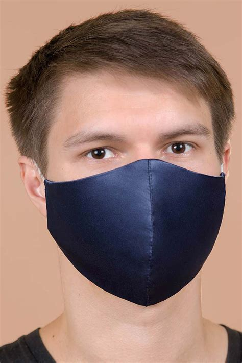 Silky Satin Face Mask Reusable And Washable 4 Layers