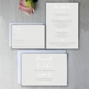 modern classic wedding invitation suite by beija flor With studio 7 wedding invitations