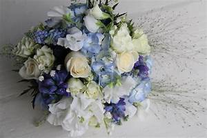 The Flower Magician: Beautiful Blue Wedding Bouquet