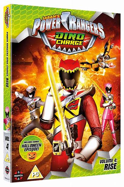 Rangers Dino Power Charge Volume Rise Complete