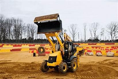 Backhoe Construction Worker Park Come True Theme