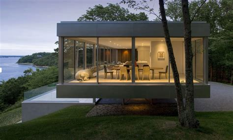 Modern House Designs Elevated Long Narrow House Designs