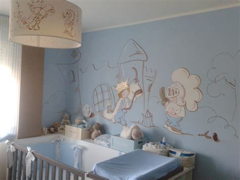 chambre bebe peinture murale deco chambre b 233 b 233 peinture murale chambre enfant prince avec ch 226 teau