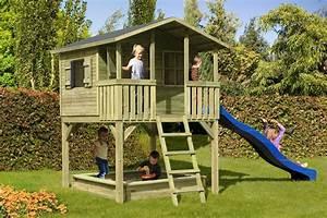 Maisonnette En Bois Sur Pilotis : plan maisonnette en bois 0 cabane enfant sur pilotis ~ Dailycaller-alerts.com Idées de Décoration