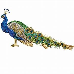 Swnpa127, Peacock, Embroidery, Design