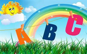 kids school wallpaper abc2 - A Wallpaper Com