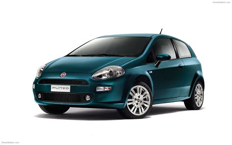Fiat Punto 2012 Widescreen Exotic Car Picture 01 Of 14