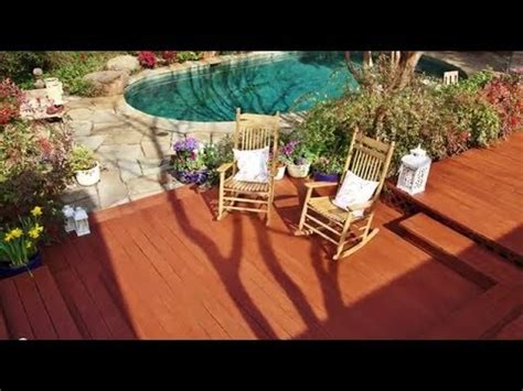 stain  deck    easy steps thompsons waterseal