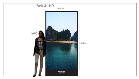 201 cran vitrine led publicitaire grand format pour magasins shenzhen multimedia