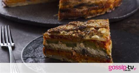 Ογκρατέν με πατάτες και λαχανικά από τον Άκη Πετρετζίκη ...