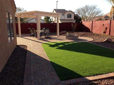 arizona backyard design with simple backyard pation ideas