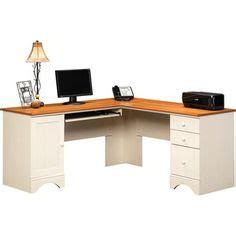 Sauder Harbor View Desk Manual by Center On Corner Computer Desks Corner