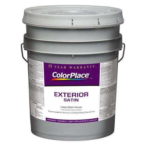 color place exterior flat accent paint accent base walmart com