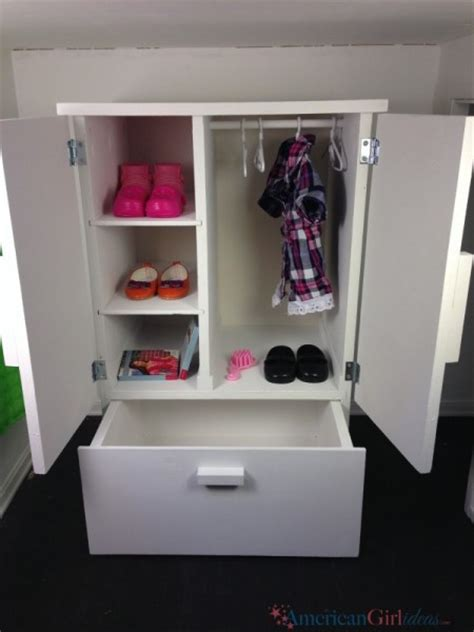 american doll closet american closet american ideas american