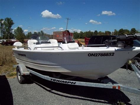 Triumph Boats For Sale In Ontario triumph boats 170dc 2011 used boat for sale in kingston