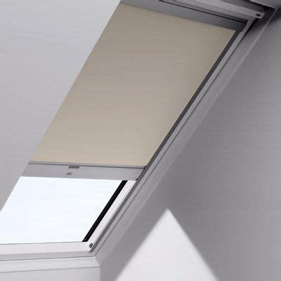 velux shop store velux occultant dsl t 233 l 233 command 233 beige castorama