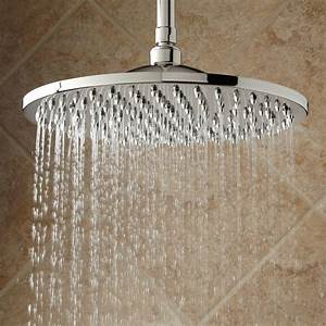 Bostonian Rainfall Nozzle Shower Head With Extended Arm