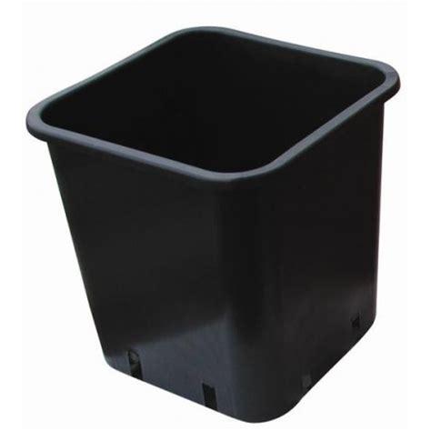 pot plastique carr 233 noir 18x18x23 6ltr nuova pasquini e bini spa 1 50 culture indoor