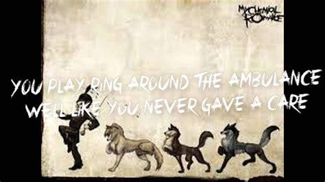 house of wolves lyrics my chemical house of wolves lyrics