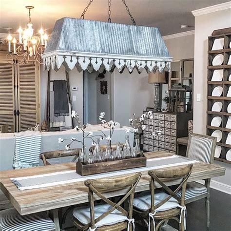 modern farmhouse style dining room  living room