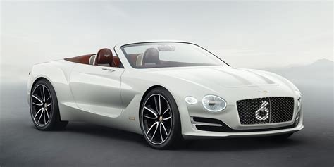 Bentley Exp12 Speed 6e Concept Defines Luxury Electric Car