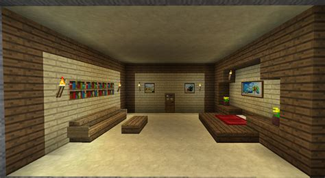 chambre moderne minecraft chaios