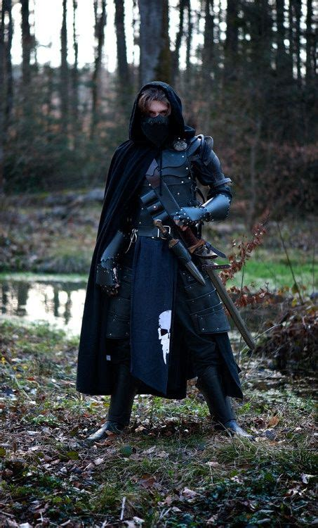 larp fantasy costumes armor medieval costume warrior armour cosplay weapons assassin character leather inspiration dark clothing knight funny uniform url
