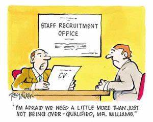 Strengths For A Job Interview Recruitment Cartoons Dorothy Rawlinson
