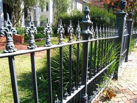 newest minimalism iron fence model  ideas