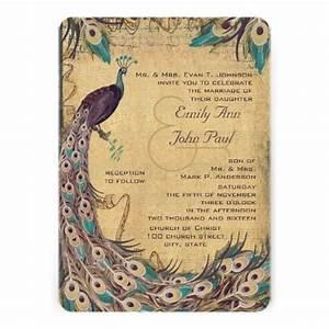 39 best Peacock Wedding Invitations images on Pinterest ...