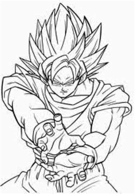 Sonic Vs Broly Free Colouring Pages
