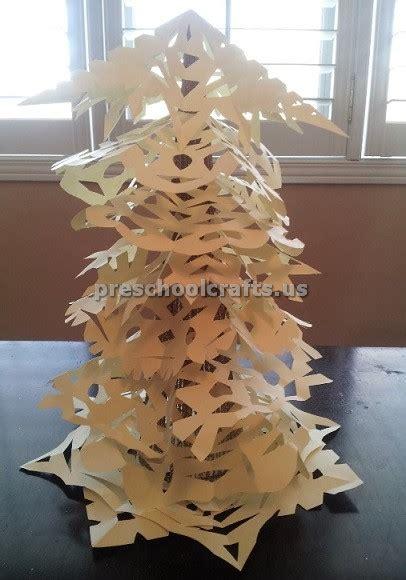 winter tree craft ideas  kids preschool  kindergarten