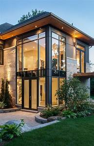 Straight Lines Large Long Windows Such a Modern Home