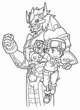 Digimon Coloring Printable Greymon Sheets Frontier Manga Anime Worksheets Cartoon Adventure Bestcoloringpagesforkids Animal sketch template
