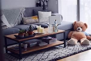 deco mon salon le coin canape les caprices d39iris With tapis berbere avec canape scandinav
