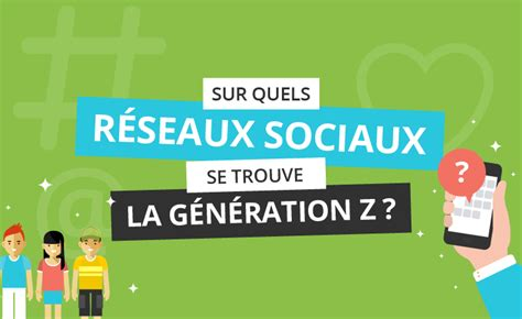 Infographie – Génération Z et réseaux sociaux, quelles ...