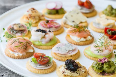 smoked salmon canape ideas easy ritz cracker canapés the view from great island