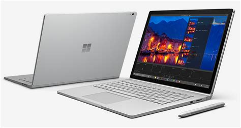microsoft surface book surface pro 4 configurations and