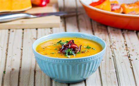 mes recettes de cuisine soupe 224 la courge butternut et sa cr 232 me fra 238 che all 233 g 233 e