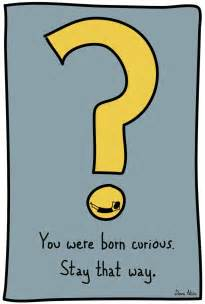 Stay Curious You Were Born That Way