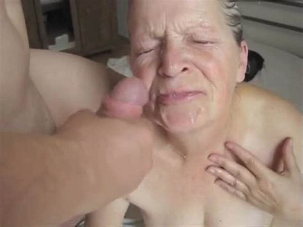 #Horny #Grandma #Sucks #On #A #Cock #And #Receives #A #Facial