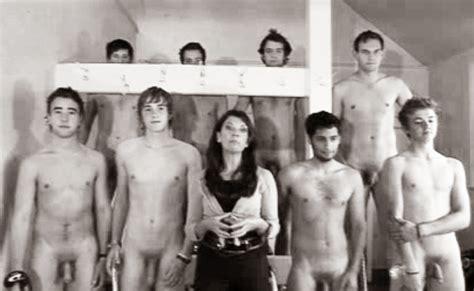 Vintage Nude Male Yearbook